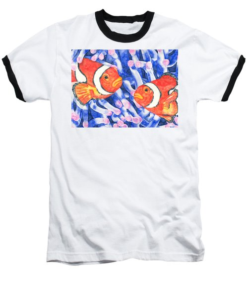 Clownfish Couple Baseball T-Shirt