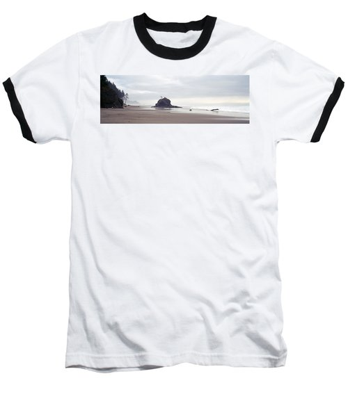 Coast La Push Olympic National Park Wa Baseball T-Shirt by Panoramic Images