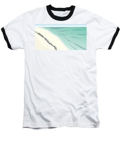 Coastal Wash Baseball T-Shirt