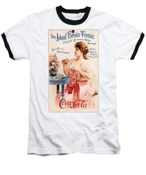 Coca-cola - The Ideal Brain Tonic Baseball T-Shirt