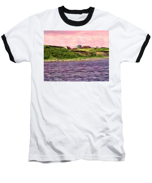 Cold Bay From The Dock Baseball T-Shirt
