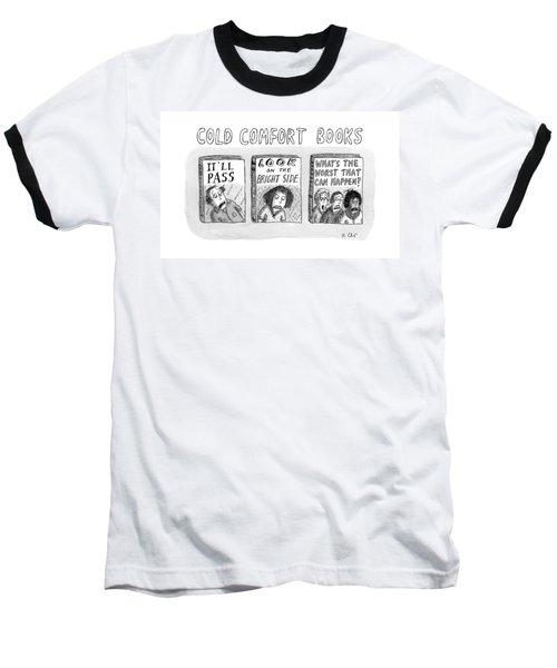 Cold Comfort Books Baseball T-Shirt