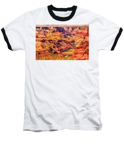 Colorado River 1 Mi Below 100 Miles To Vermillion Cliffs Utah Baseball T-Shirt