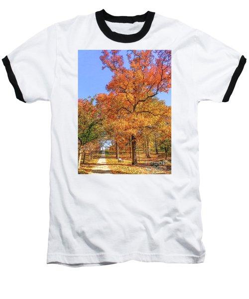 Colors Of Fall Baseball T-Shirt