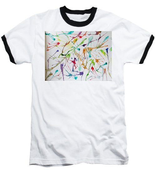 Colourful Holi Baseball T-Shirt