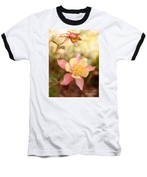 Columbine Baseball T-Shirt by Roselynne Broussard