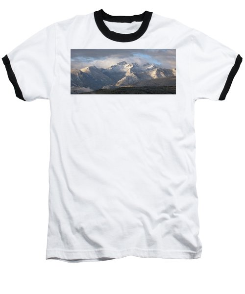 Baseball T-Shirt featuring the photograph Como Peaks Montana by Joseph J Stevens