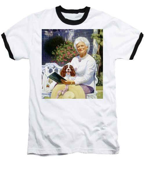 Companions In The Garden Baseball T-Shirt
