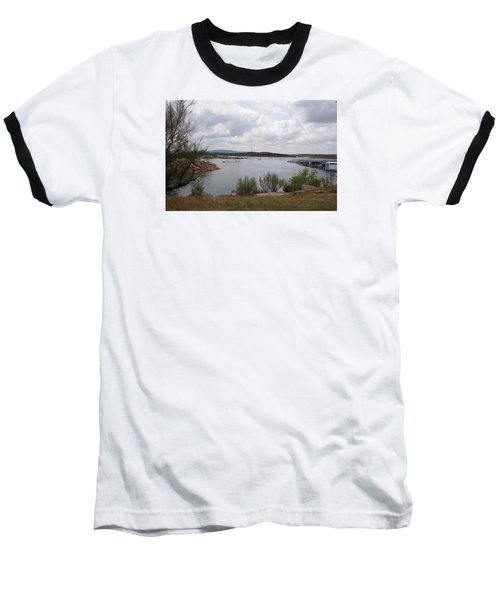 Conchas Dam Baseball T-Shirt by Sheri Keith