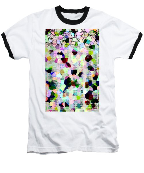 Baseball T-Shirt featuring the photograph Confetti Table by Ecinja Art Works