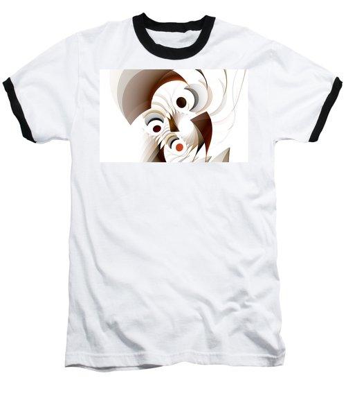 Confusion Baseball T-Shirt by GJ Blackman