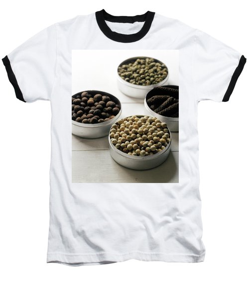 Containers Of Peppers Baseball T-Shirt