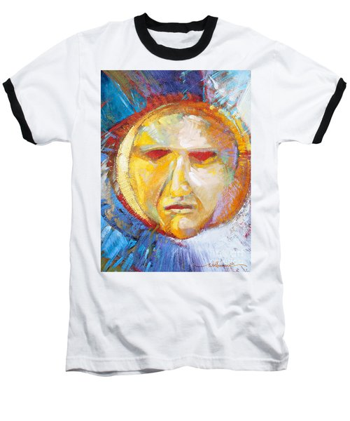 Contemplating The Sun Baseball T-Shirt