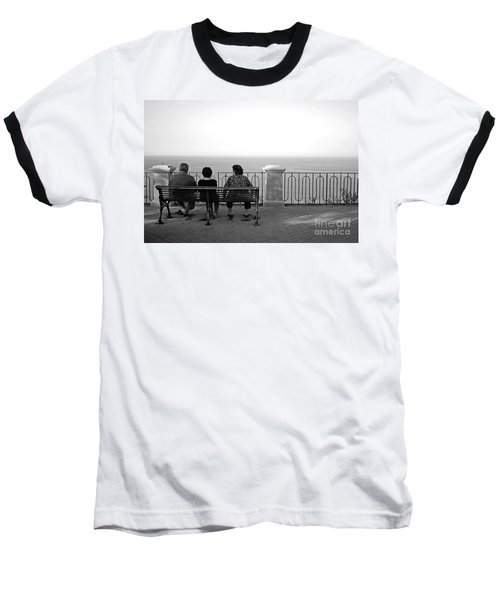 Conversations By The Sea Baseball T-Shirt