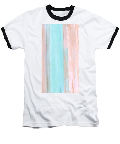 Baseball T-Shirt featuring the painting Cool Jade by Stephanie Grant