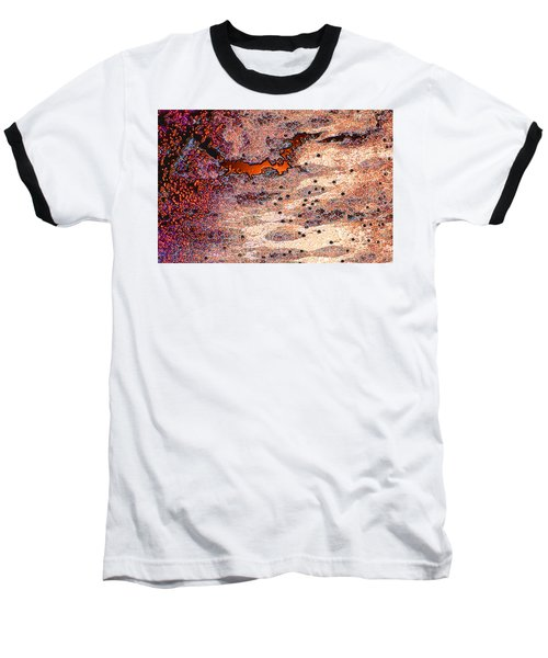 Baseball T-Shirt featuring the photograph Copper Landscape by Stephanie Grant