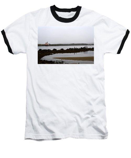 Coquille River Lighthouse Baseball T-Shirt