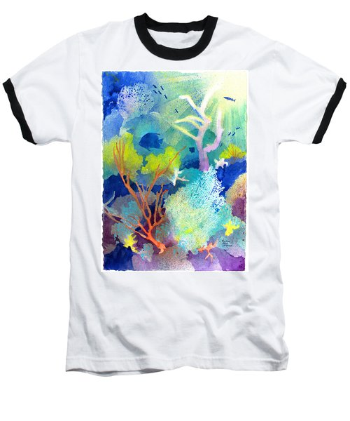 Coral Reef Dreams 1 Baseball T-Shirt