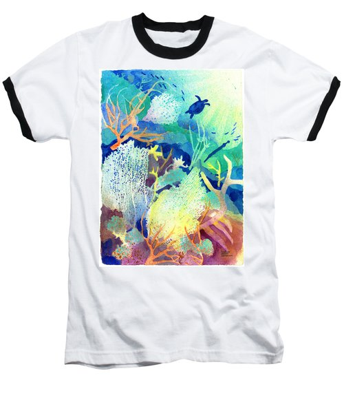 Coral Reef Dreams 2 Baseball T-Shirt