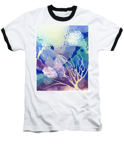 Coral Reef Dreams 4 Baseball T-Shirt