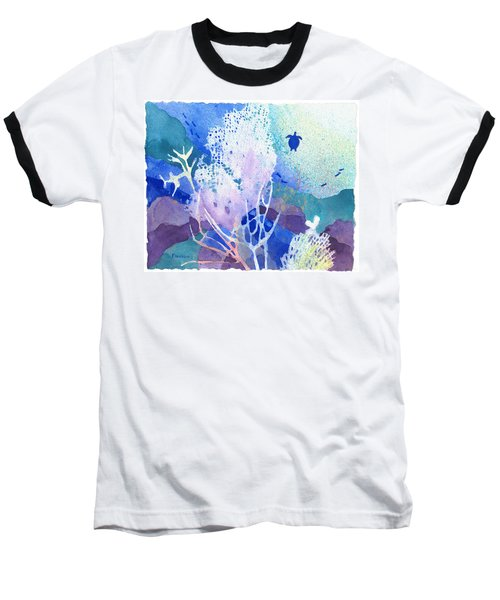Coral Reef Dreams 5 Baseball T-Shirt
