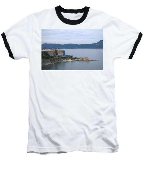 Corfu City 4 Baseball T-Shirt by George Katechis