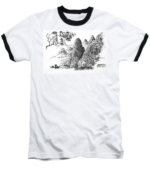 Cormoran Fishing Baseball T-Shirt