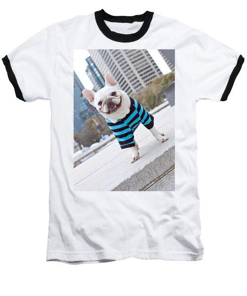 Baseball T-Shirt featuring the photograph Cornnut by Lisa Phillips