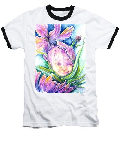 Cosmos Bud Baseball T-Shirt