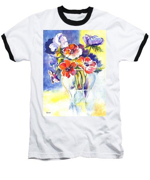 Baseball T-Shirt featuring the painting Cosmos I by Carol Wisniewski