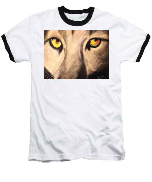 Cougar Eyes Baseball T-Shirt