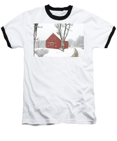 Country Snow Baseball T-Shirt