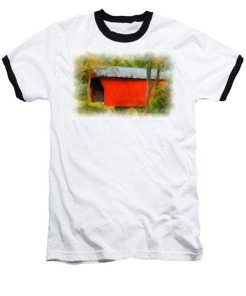 Covered Bridge - Sinking Creek Baseball T-Shirt