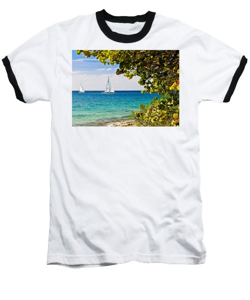 Cozumel Sailboats Baseball T-Shirt