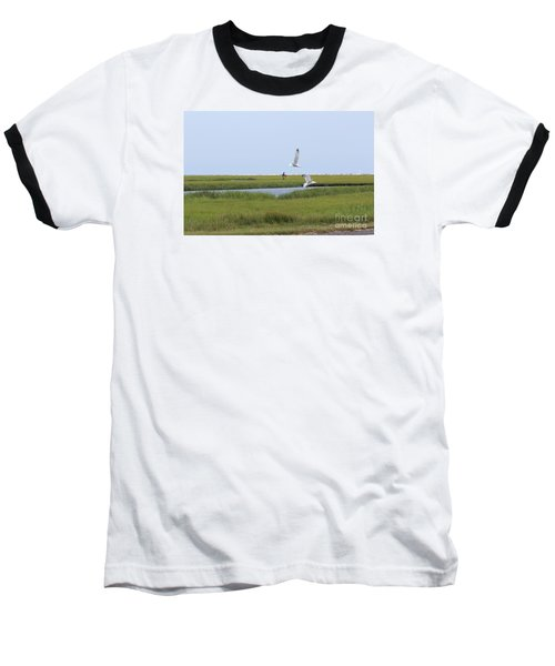 Baseball T-Shirt featuring the photograph Crabber by David Jackson