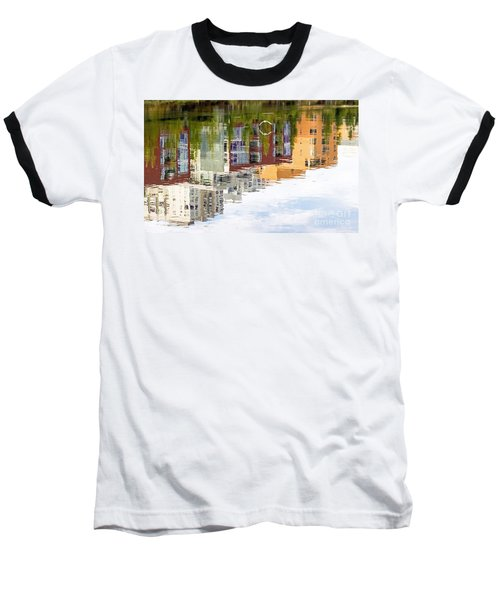 Baseball T-Shirt featuring the photograph Creekside Reflections by Kate Brown