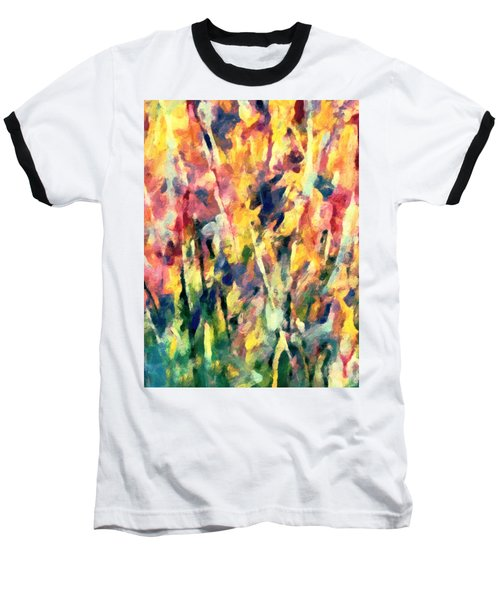 Crescendo Of Spring Abstract Baseball T-Shirt