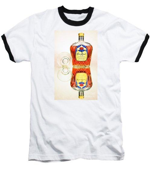 Crown Royal 3 Baseball T-Shirt