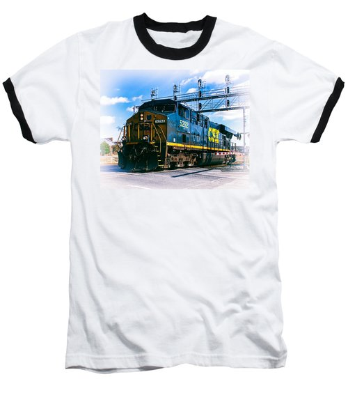 Csx 5292 Warner Street Crossing Baseball T-Shirt