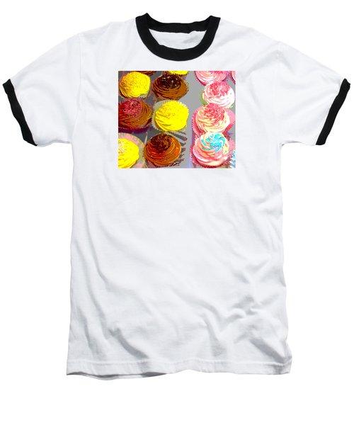 Cupcake Suite Baseball T-Shirt