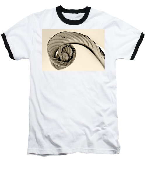 Curled Baseball T-Shirt