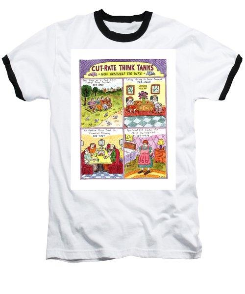 Cut-rate Think Tanks Baseball T-Shirt