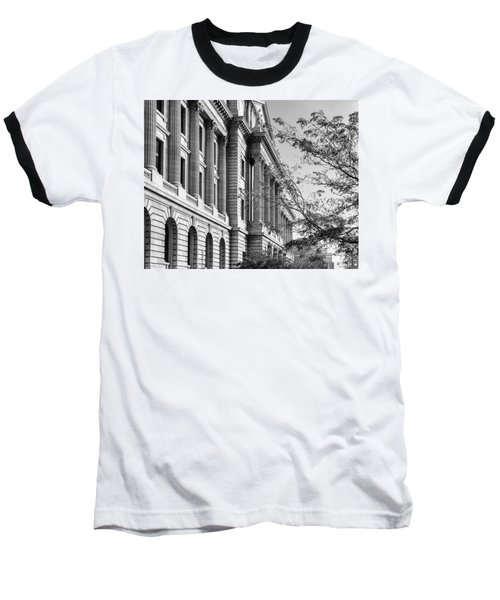 Baseball T-Shirt featuring the photograph Cuyahoga County Court House by Dale Kincaid