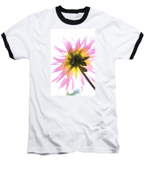Dahlia Flower Baseball T-Shirt