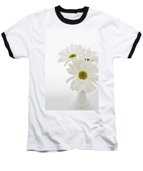 Daisies For You Baseball T-Shirt by Diane Alexander