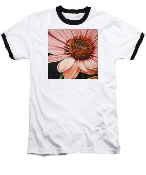 Daisy In Pink Baseball T-Shirt