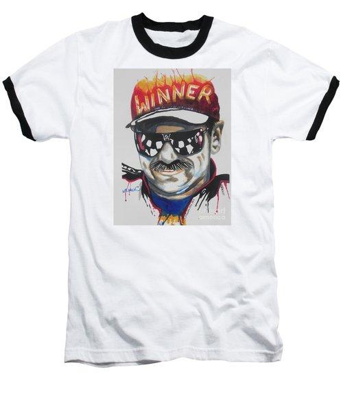 Dale Earnhardt Sr Baseball T-Shirt