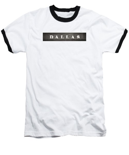 Dallas Baseball T-Shirt by Darryl Dalton