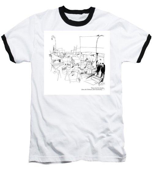 Damn The Uris Brothers Baseball T-Shirt