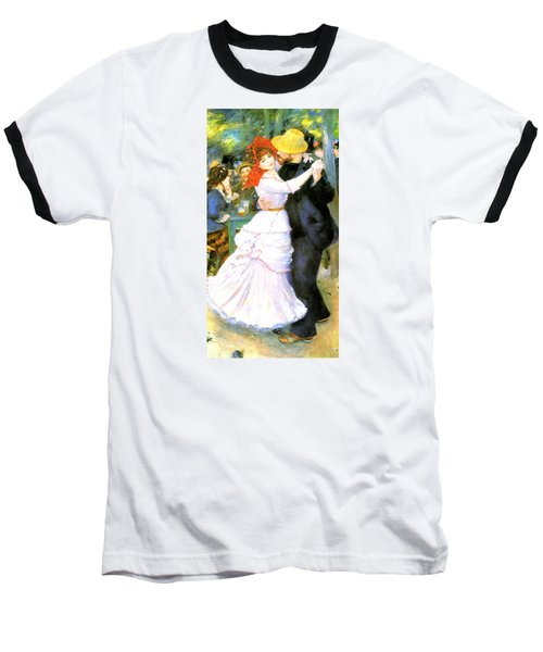 Dance At Bougival Baseball T-Shirt by Pierre Auguste Renoir